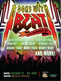 Books with beat - Teen read week