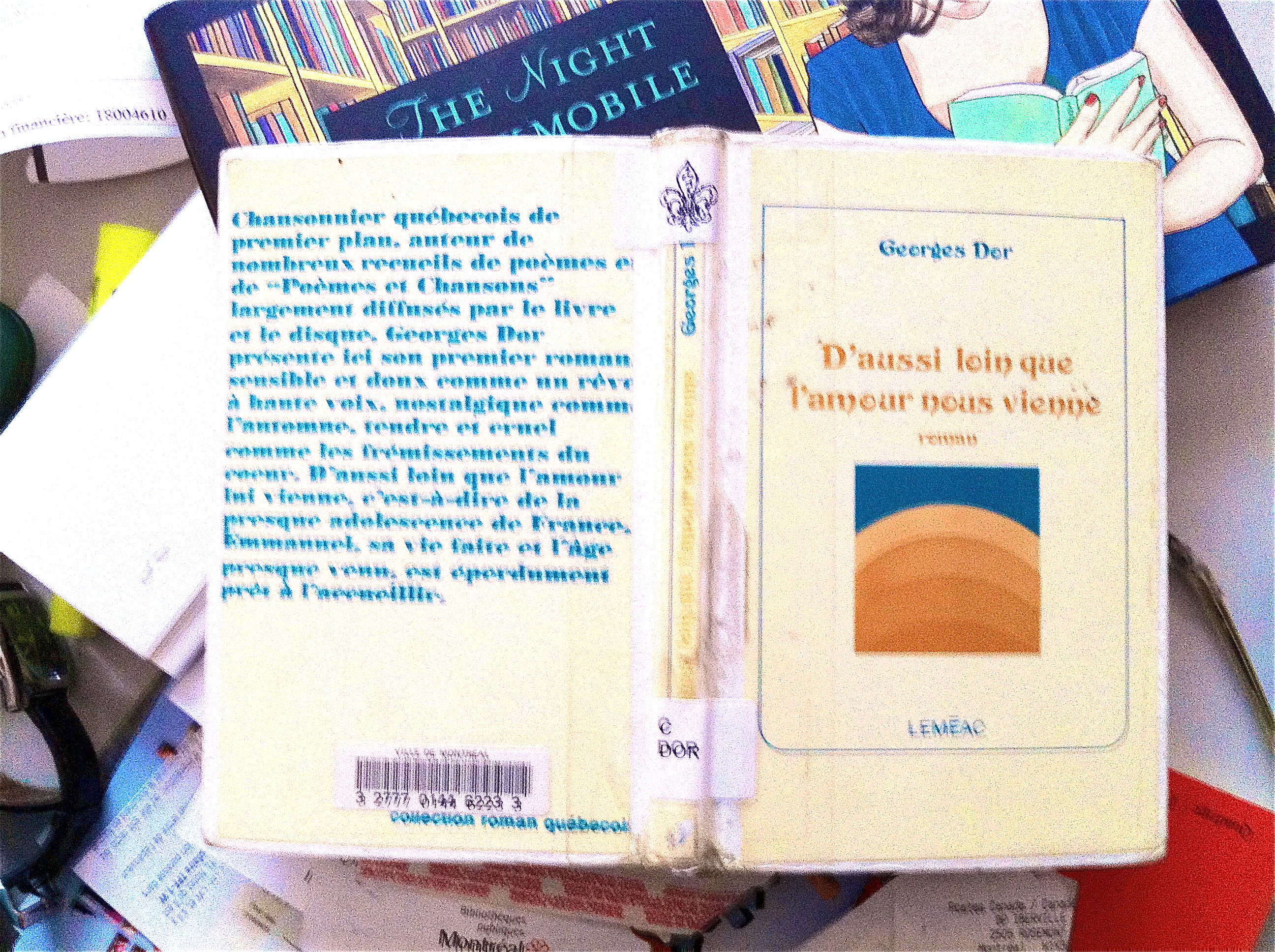 Photo de la couverture d'un livre de la collection des Bibliothques publiques de Montral