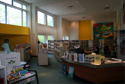 Bibliothque Outremont - section des jeunes
